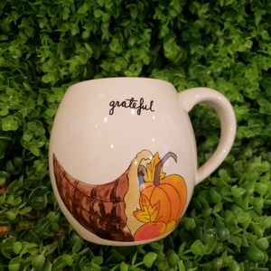 Rae dunn Grateful Thanksgiving Mug